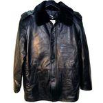 Куртка Полиция кожаная френч