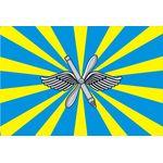 Флаг ВВС (15х22 см)