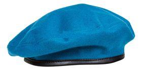 Берет форменный шитый голубой