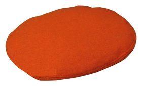 Берет форменный шитый оранжевый