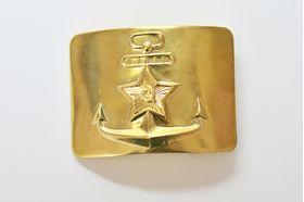 Бляха ВМФ СССР жестяная