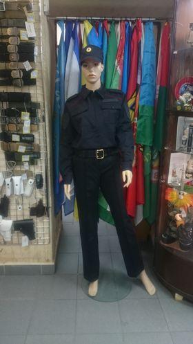 Костюм ППС Полиция летний (тк п/эф-вискоза)