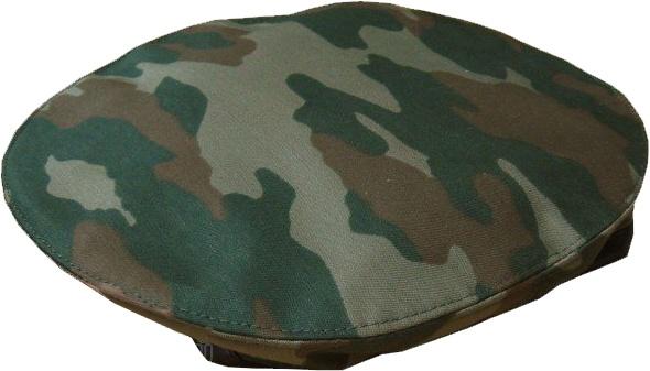 Берет форменный шитый камуфлированный
