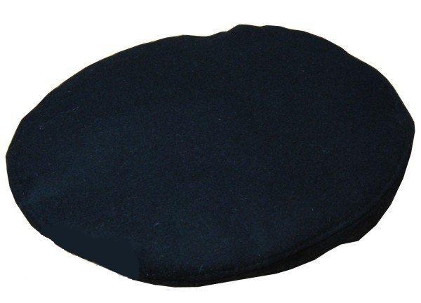 Берет форменный шитый черный