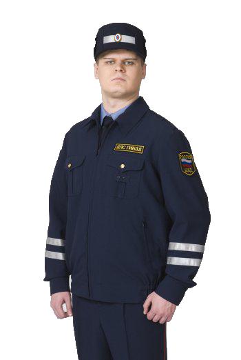 Костюм ДПС летний (куртка и две пары брюк)