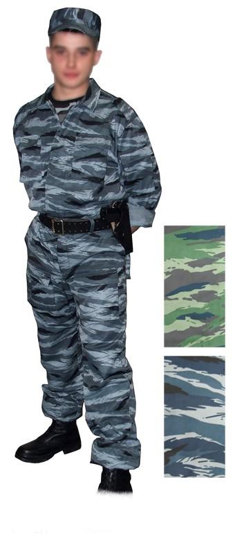 """Костюм камуфлированный """"Спецназ"""" серый камыш (ткань рип-стоп)"""
