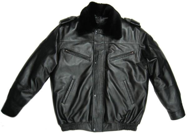 Куртка МВД кожаная