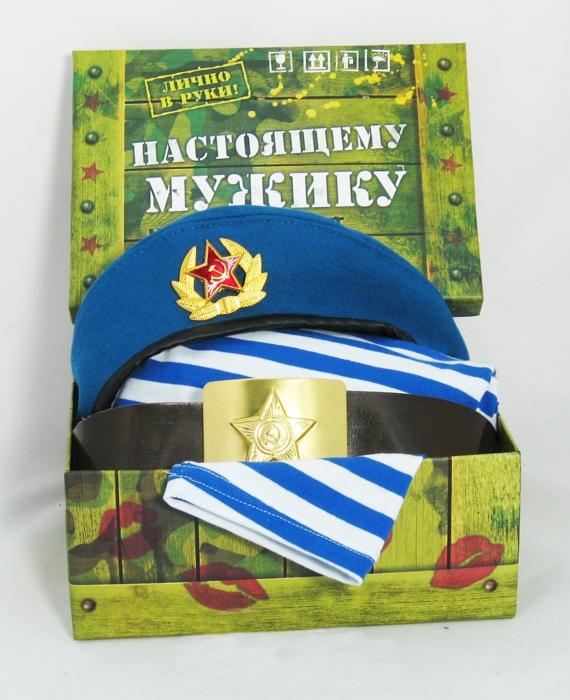 """Подарочный набор """"Настоящему мужику"""" (ВДВ)"""