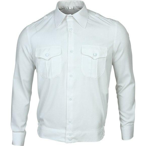 Рубашка белая (длинные и короткие рукава)