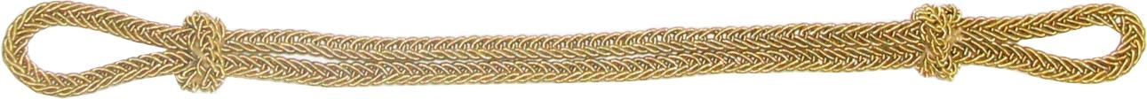 Филигранный ремешок металлизированный