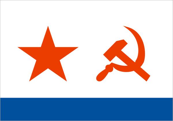 Флаг ВМФ (15х22 см)