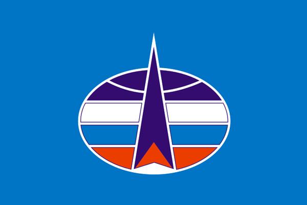 Флаг Космические Войска (90х135 см)
