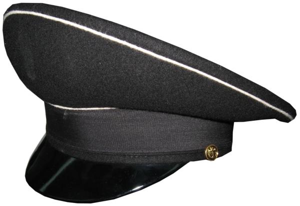 Фуражка ВМФ черная уставная