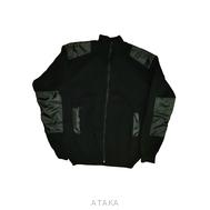 Куртка вязаная на молнии черная