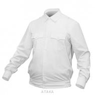 Рубашка Полиции белая на резинке (длинные и короткие рукава)