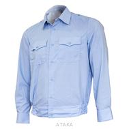 Рубашка Полиция на резинке (длинный рукав)