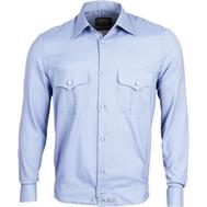 Рубашка голубая ФСБ (длинные и короткие рукава)