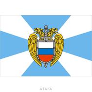 Флаг ФСО (15х22 см)