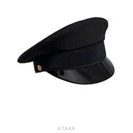 Фуражка офисная черная