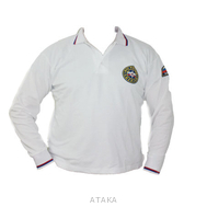 Футболка-поло МЧС белая