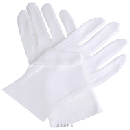 Перчатки парадные белые